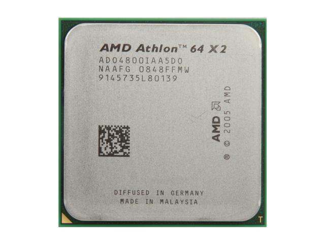 AMD Athlon 64 X2 4800+ 2.5 GHz Socket AM2 ADO4800IAA5DO Processor - OEM