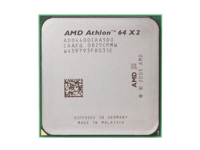 AMD Athlon 64 X2 4400+ Brisbane Dual-Core 2.3 GHz Socket AM2 65W ADO4400IAA5DO Processor