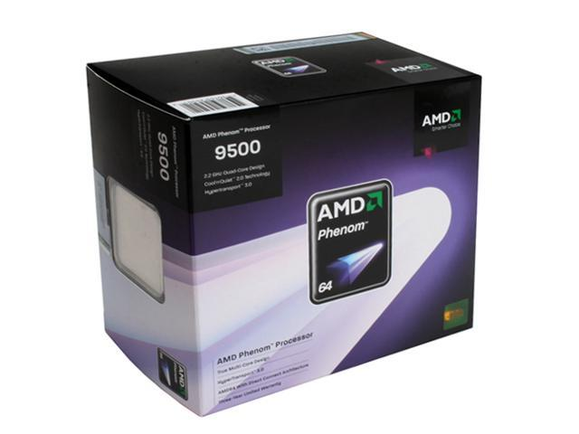 AMD Phenom 9500 Agena Quad-Core 2.2 GHz Socket AM2+ 95W HD9500WCGDBOX Processor