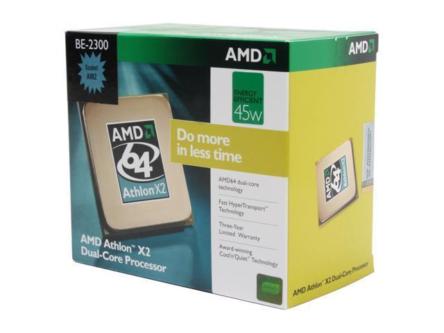 AMD Athlon X2 BE-2300 Brisbane Dual-Core 1.9 GHz Socket AM2 45W ADH2300DOBOX Processor