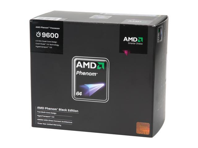 AMD Phenom 9600 2.3 GHz Socket AM2+ HD960ZWCGDBOX Processor