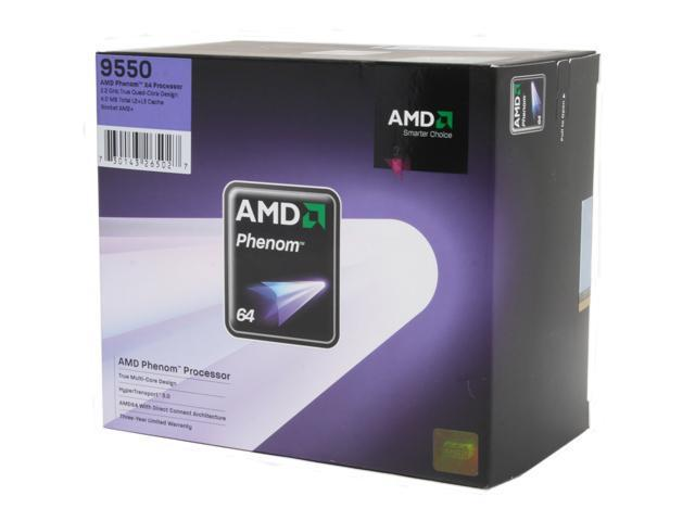 AMD Phenom 9550 2.2 GHz Socket AM2+ HD9550WCGHBOX Processor