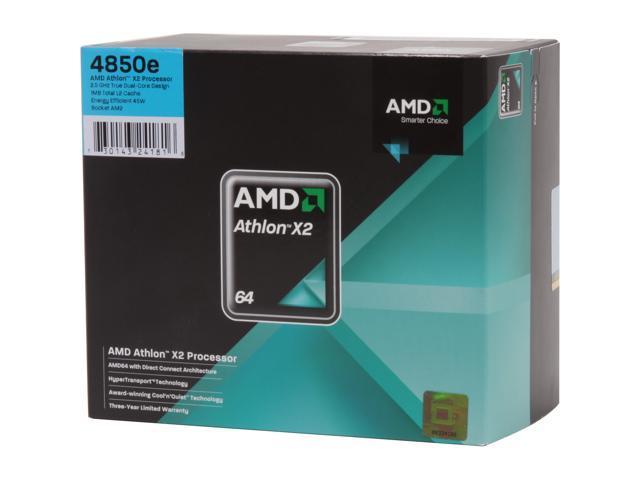 AMD Athlon X2 4850e 2.5 GHz Socket AM2 ADH4850DOBOX Processor