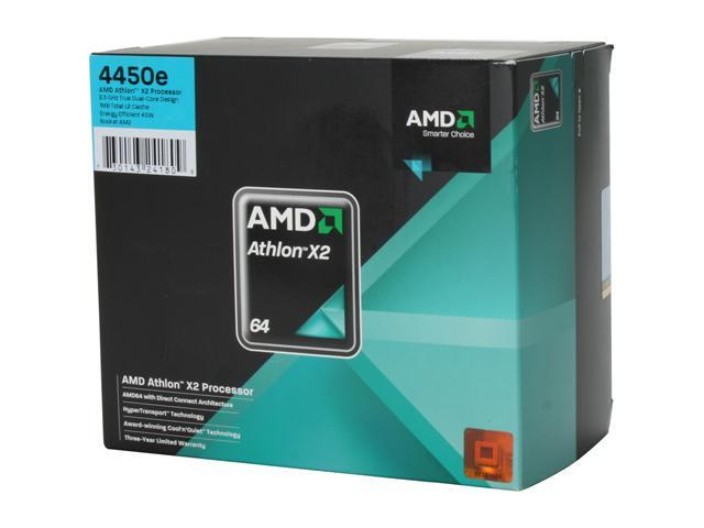 AMD Athlon X2 4450B Dual-Core 2.3 GHz Socket AM2 45W ADH445BDOBOX Processor