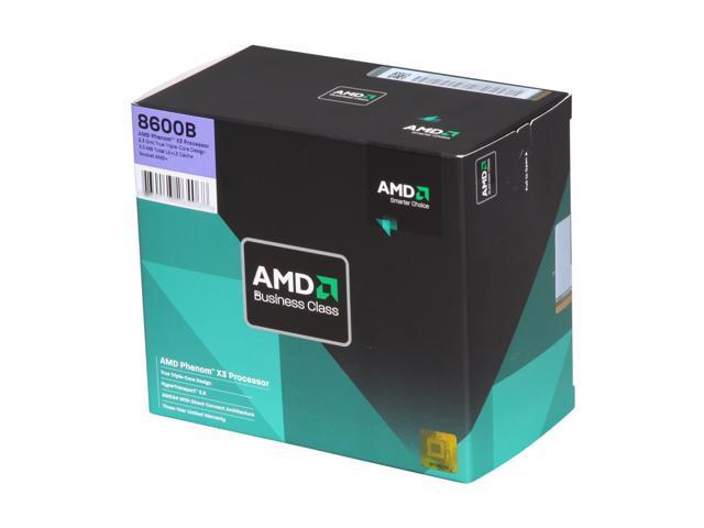AMD Phenom X3 8600B Toliman Triple-Core 2.3 GHz Socket AM2+ 95W HD860BWCGHBOX Processor