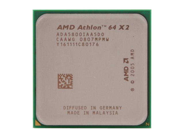 AMD Athlon 64 X2 5800+ Brisbane Dual-Core 3.0 GHz Socket AM2 89W ADA5800IAA5DO Processor