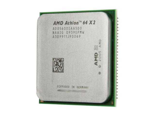 AMD Athlon 64 X2 5600+ 2.9 GHz Socket AM2 ADO5600IAA5DO Processor - OEM