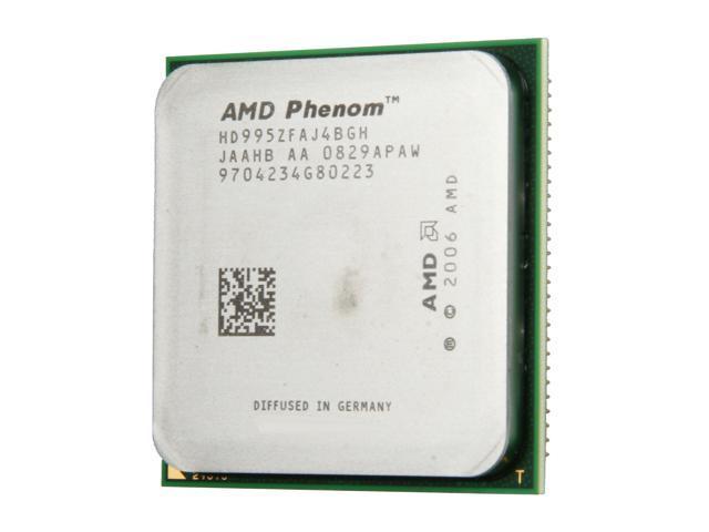 AMD Phenom X4 9950 Black Edition Agena Quad-Core 2.6 GHz Socket AM2+ 140W HD995ZFAJ4BGH ...