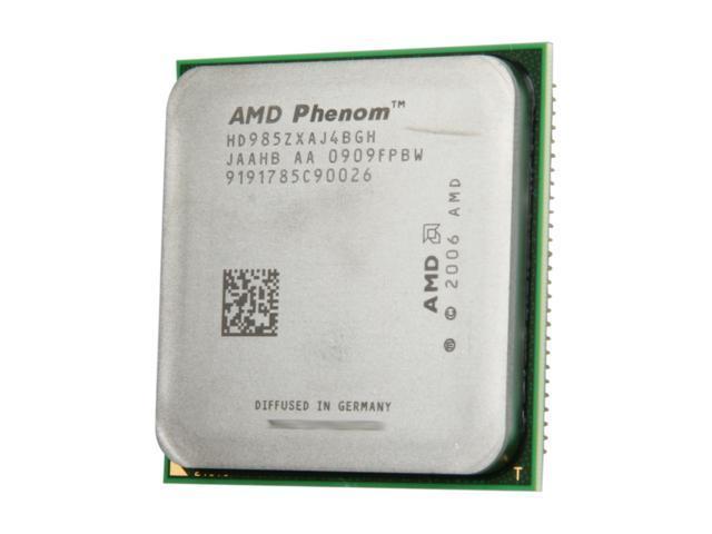 AMD Phenom 9850 Black Edition Quad-Core 2.5 GHz Socket AM2+ 125W HD985ZXAJ4BGH Desktop Processor