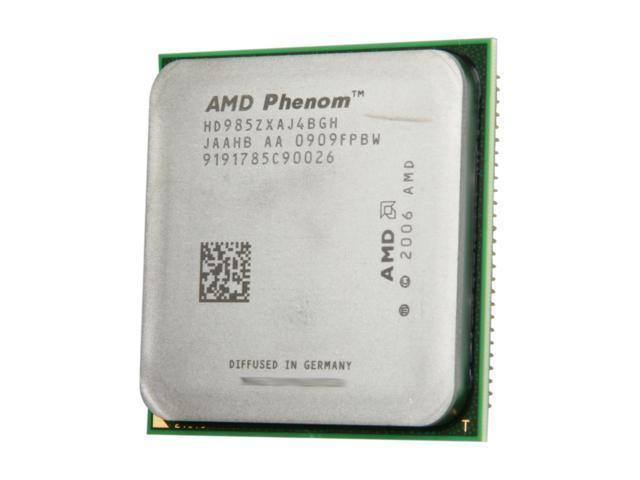 AMD Phenom 9850 Black Edition 2.5 GHz Socket AM2+ HD985ZXAJ4BGH Desktop Processor