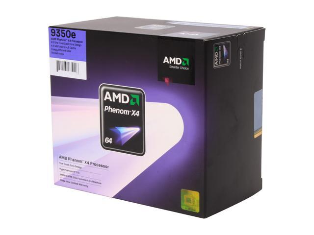 AMD Phenom X4 9350e Agena Quad-Core 2.0 GHz Socket AM2+ 65W HD9350ODGHBOX Processor