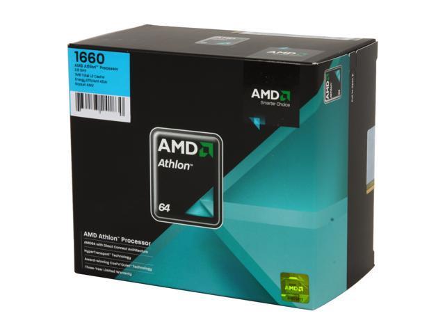 AMD Athlon LE-1660 2.8 GHz Socket AM2 ADH1660DPBOX Processor