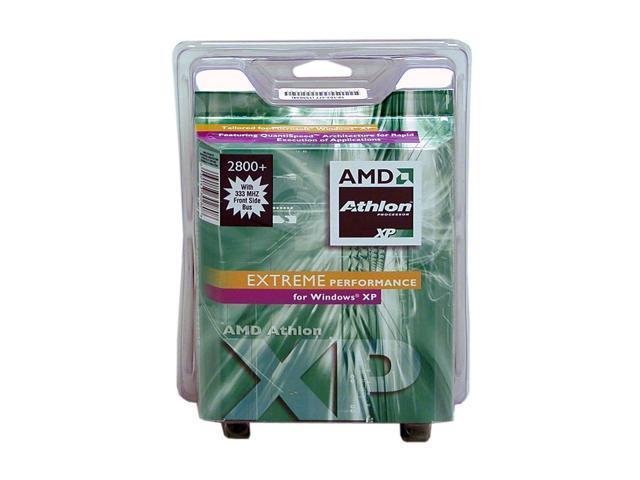AMD Athlon XP 2800+ Barton Single-Core 2.083 GHz Socket A AXDA2800BOX Processor