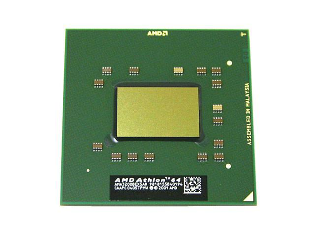 AMD Mobile Athlon 64 3200+ (DTR) ClawHammer 2.0 GHz Socket 754 Single-Core AMA3200BEX5AR Processor for DTR Notebooks