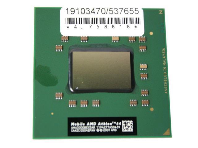 AMD Mobile Athlon 64 3000+ (DTR) ClawHammer 1.8 GHz Socket 754 Single-Core AMA3000BEX5AR Processor