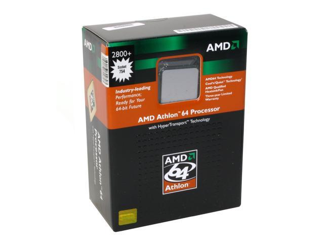 AMD Athlon 64 2800+ 1.8 GHz Socket 754 ADA2800BOX Processor
