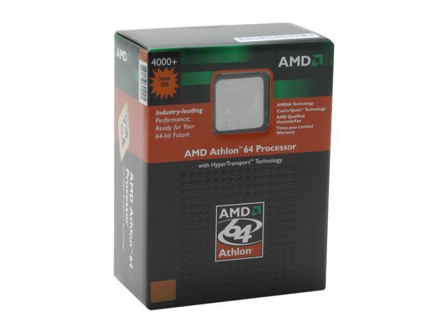 AMD Athlon 64 4000+ San Diego Single-Core 2.4 GHz Socket 939 ADA4000BNBOX Processor