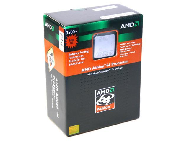 AMD Athlon 64 3500+ Venice Single-Core 2.2 GHz Socket 939 ADA3500BPBOX Processor