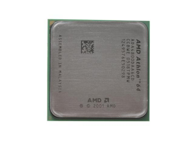 AMD Athlon 64 X2 4800+ Toledo Dual-Core 2.4 GHz Socket 939 110W ADA4800DAA6CD Processor