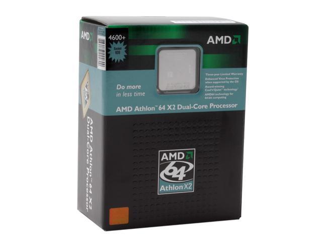 AMD Athlon 64 X2 4600+ Manchester Dual-Core 2.4 GHz Socket 939 ADA4600BVBOX Processor