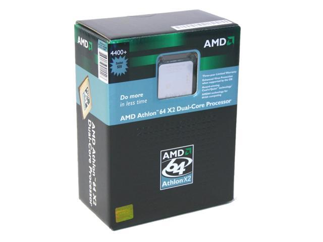 AMD Athlon 64 X2 4400+ Toledo Dual-Core 2.2 GHz Socket 939 ADA4400CDBOX Processor