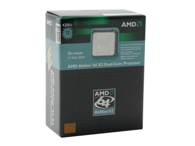 AMD Athlon 64 X2 4200+ 2.2 GHz Socket 939 ADA4200BVBOX Processor