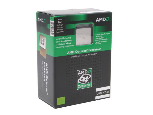AMD Opteron 165 1.8 GHz Socket 939 OSA165CDBOX Processor