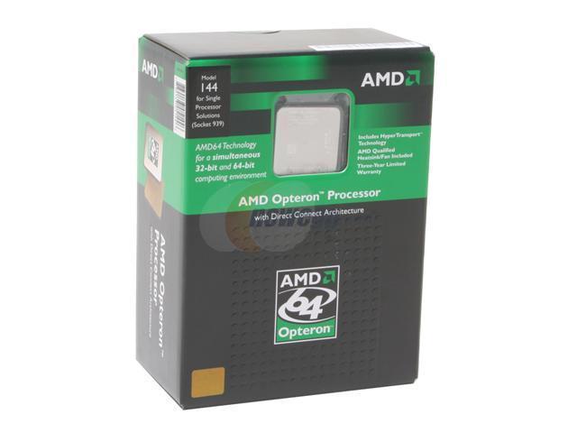AMD Opteron 144 1.8 GHz Socket 939 OSA144BNBOX Processor
