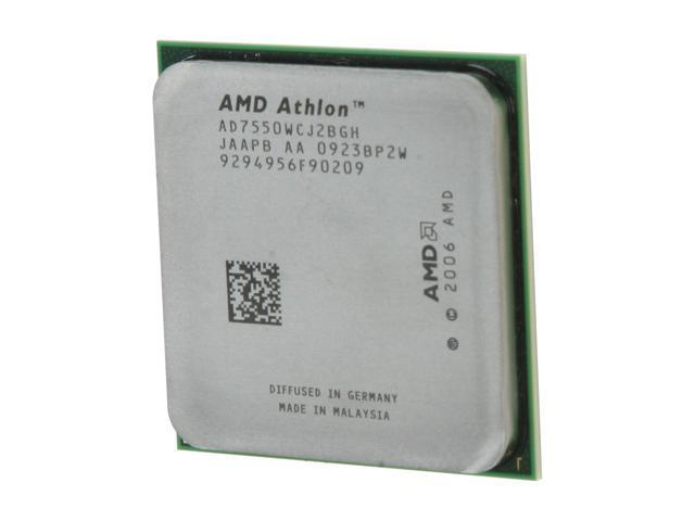 AMD Athlon X2 7550 2.5 GHz Socket AM2+ AD7550WCJ2BGH Processor - OEM
