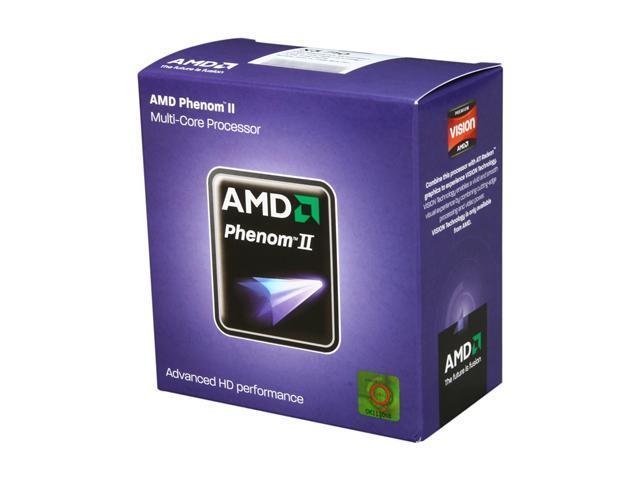 AMD Phenom II X3 710 Triple-Core 2.6 GHz Socket AM3 95W HDX710WFGIBOX Processor