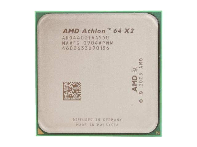 AMD Athlon 64 X2 4400+ Brisbane Dual-Core 2.3 GHz Socket AM2 65W ADO4400IAA5DU Processor