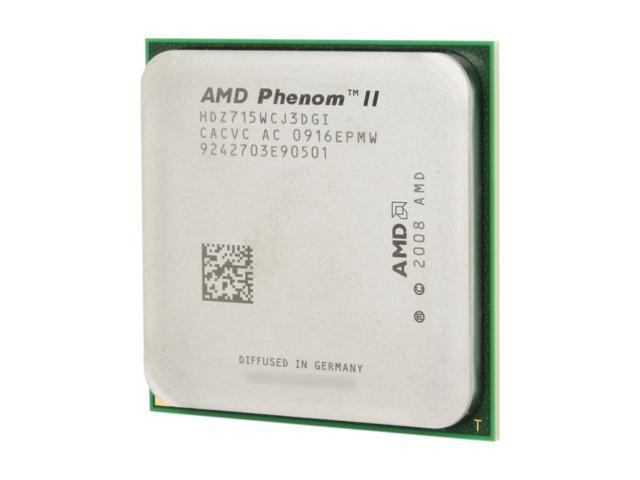 AMD Phenom II X3 715 Black Edition 2.8 GHz Socket AM2+ HDZ715WCJ3DGI Desktop Processor - OEM