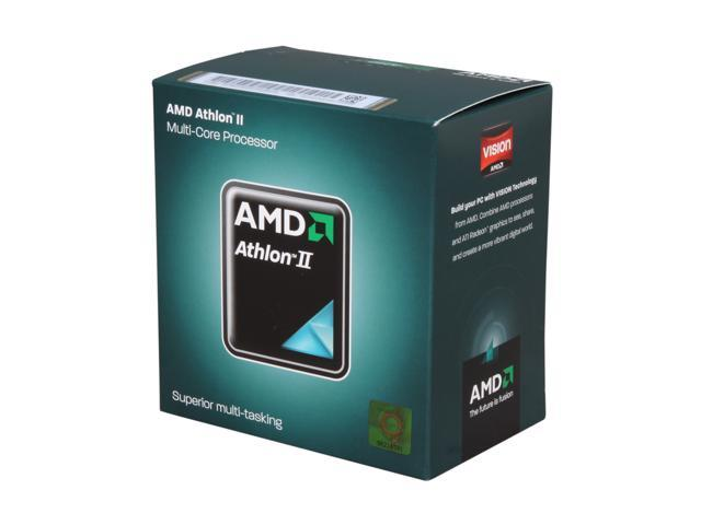 AMD Athlon II X2 250 Regor Dual-Core 3.0 GHz Socket AM3 65W ADX250OCGQBOX Processor