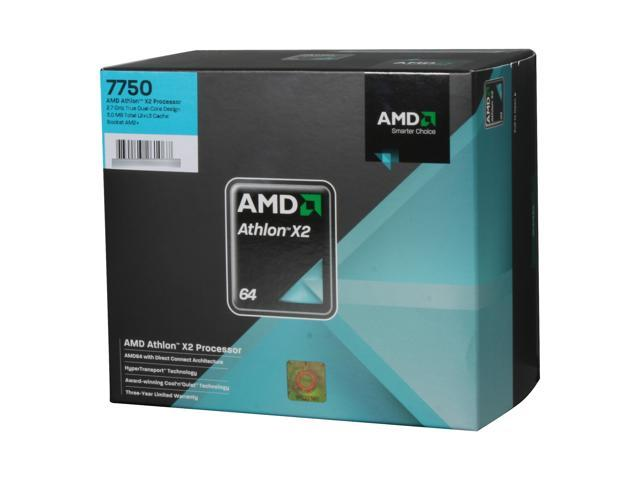 AMD Athlon 64 X2 7750 Kuma Dual-Core 2.7 GHz Socket AM2+ 95W AD7750WCGHBOX Processor