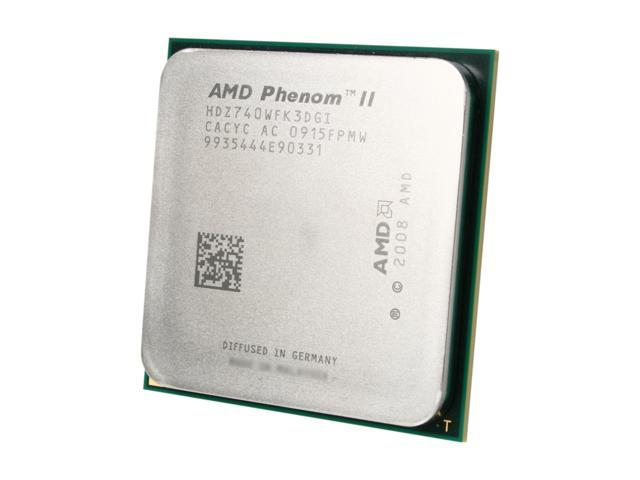 AMD Phenom II X3 740 Black Edition Heka Triple-Core 3.0 GHz Socket AM3 95W HDZ740WFK3DGI Desktop Processor