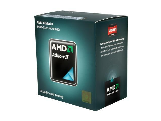 AMD Athlon II X4 635 Propus Quad-Core 2.9 GHz Socket AM3 95W ADX635WFGIBOX Desktop Processor