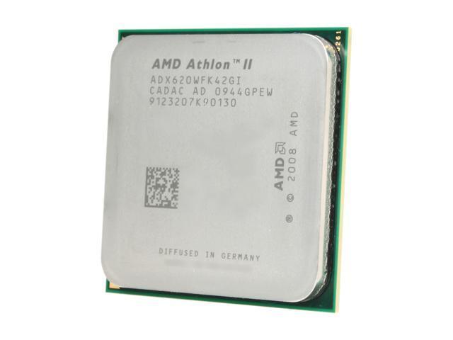 AMD Athlon II X4 620 2.6 GHz Socket AM3 ADX620WFK42GI Processor - OEM