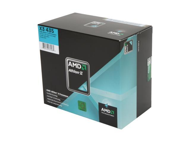 AMD Athlon II X3 435 Rana Triple-Core 2.9 GHz Socket AM3 95W ADX435WFGIBOX Processor