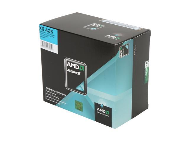 AMD Athlon II X3 425 Rana Triple-Core 2.7 GHz Socket AM3 95W ADX425WFGIBOX Processor