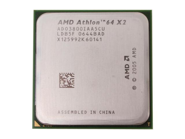 AMD Athlon 64 X2 3800+ Windsor Dual-Core 2.0 GHz Socket AM2 65W ADO3800IAA5CU Processor