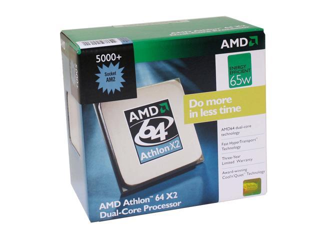AMD Athlon 64 X2 5000+ 2.6 GHz Socket AM2 ADO5000DDBOX Processor