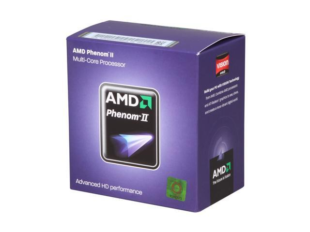 AMD Phenom II X4 945 3.0 GHz Socket AM3 HDX945WFGMBOX Desktop Processor