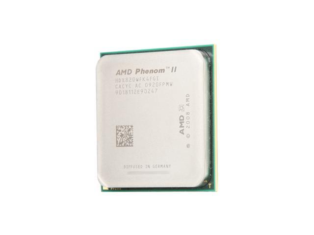 AMD Phenom II X4 820 Deneb Quad-Core 2.8 GHz Socket AM3 95W HDX820WFK4FGI Processor
