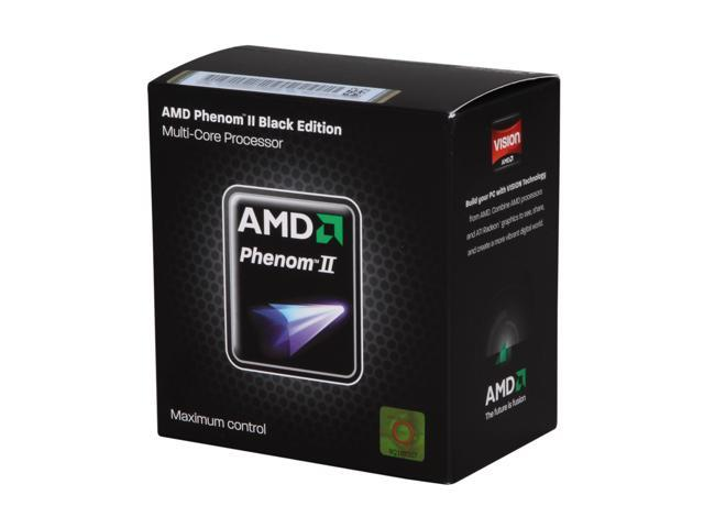 AMD Phenom II X2 555 Black Edition 3.2 GHz Socket AM3 HDZ555WFGMBOX Desktop Processor - C3 Revision