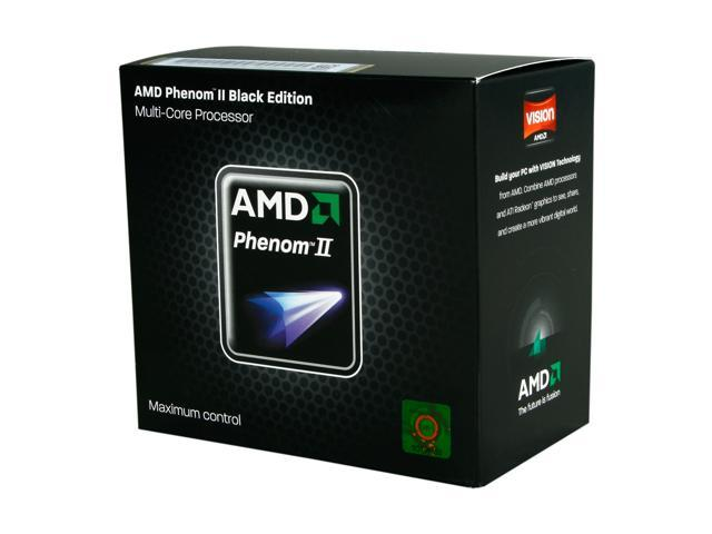 AMD Phenom II X6 1090T Black Edition 3.2 GHz Socket AM3 HDT90ZFBGRBOX Desktop Processor