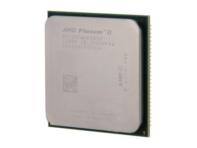 AMD Phenom II X6 1035T 2.6 GHz Socket AM3 HDT35TWFK6DGR Desktop Processor