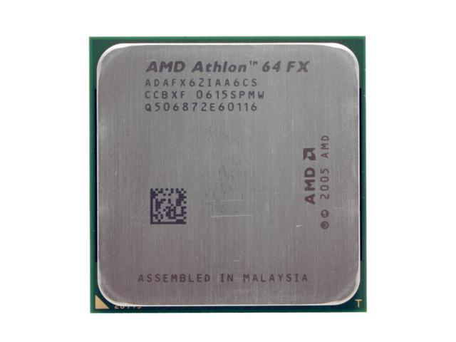 AMD Athlon 64 FX-62 Windsor Dual-Core 2.8 GHz Socket AM2 125W ADAFX62IAA6CS Processor