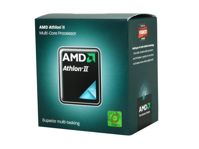 AMD Athlon II X3 445 Rana Triple-Core 3.1 GHz Socket AM3 95W ADX445WFGMBOX Desktop Processor