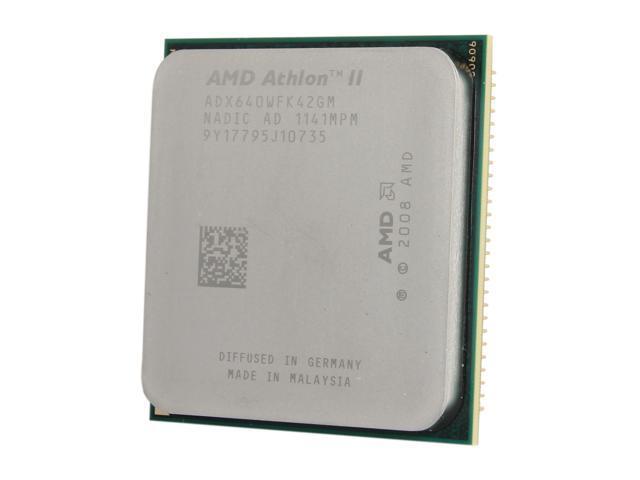AMD Athlon II X4 640 Propus Quad-Core 3.0 GHz Socket AM3 95W ADX640WFK42GM Desktop Processor