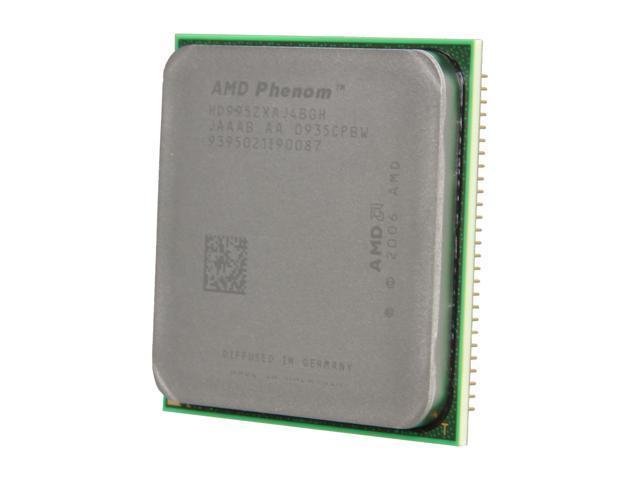 AMD Phenom X4 9950 Black Edition 2.6 GHz Socket AM2+ HD995ZXAJ4BGH Desktop Processor - OEM